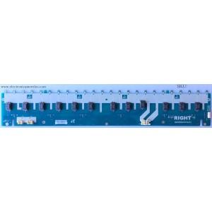 BACKLIGHT INVERSOR RIGHT / SONY LJ97-01155C / 1155C / SSB460HA24-R REV0.4 / MODELO KDL-46XBR4