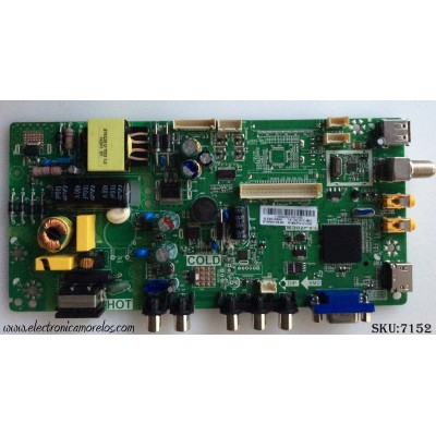 FUENTE / MAIN / TCL L14080033 / GLE951580A / 02-SHY82V-CHLA03 / V8-MS82PLA-LF1V293 / MS82PVT / TP.MS18VG.PB77
