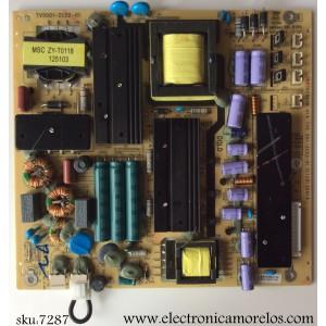 FUENTE DE PODER / RCA 510-130121241 / 514C5001M11 / TV5001-ZC02-01 / C691029AON / 001-ZC02-01 / 20120918 / MODELO DEDM500M