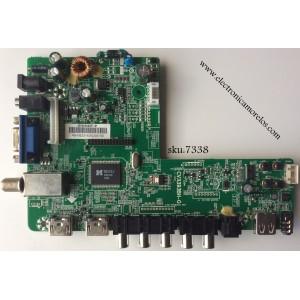 FUENTE / MAIN / INSIGNIA 22002A0025T-91 / CV3393BH-G / MODELO NS-32D312NA15