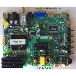 FUENTE / MAIN / SANYO B14031228 / 02-SHY39A-CXS001 / TP.MS3393T.PB79 / MODELO DP39D14 P39D14-00