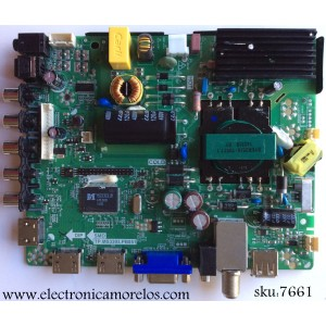 FUENTE Y MAIN / ELEMENT 34012154 / TP.MS3393.PB851 / MODELO ELEFW408