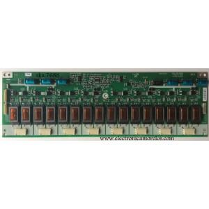 BACKLIGHT INVERSOR SLAVE / SAMSUNG GH150A - RU / GH150A (REV1.0) / MODELO LNS5797DX/XAA SP01