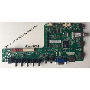 MAIN / SANYO B14010180 / T.MS3393T.78 / 3MS3393X-3 / MODELO DP58D34 P58D34-00