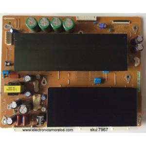 Y-SUS / SAMSUNG BN96-12411A / LJ41-08458A / 683A / LJ92-01728A / MODELOS PN50C540G3FXZA / PN50C550G1FXZA / PN50C590G4FXZA / PN50C675G6FXZA / PN50C680G5FXZA / PS50C550G1WXXU / PDP5071