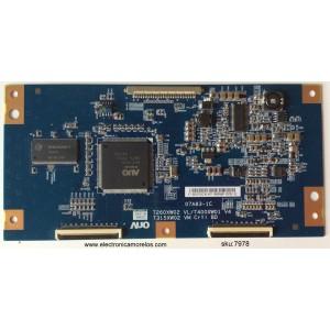 T-CON / SONY 1-857-214-11 / 5531T03C18 / 07A83-1C / 55.31T03.C18 / T260XW02 VL / MODELO KDL-32M4000