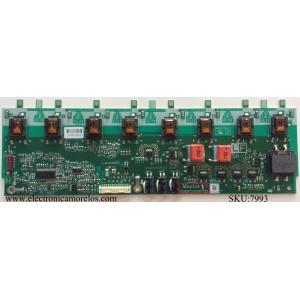BACKLIGHT INVERSOR / SHARP RDENC2629TPZZ / VIJ38012.00 REV:3 / MODELO LC-52D78UN