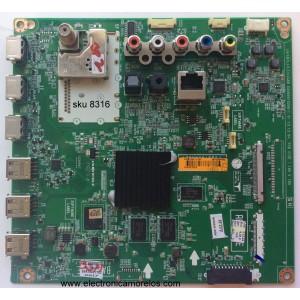 MAIN / LG EBT62956906 / EBR78027702 / EAX65610206 / MODELO 47LB6100-UG / PANEL  LC470DUE-FGA4