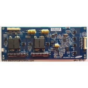 BACKLIGHT INVERTER / MITSUBISHI LJ97-02946A / SSL550EL03 / 2946A / SSL550EL03 REV:0.1 / PANEL LTA460HQ02-001 / MODELO LT-46265