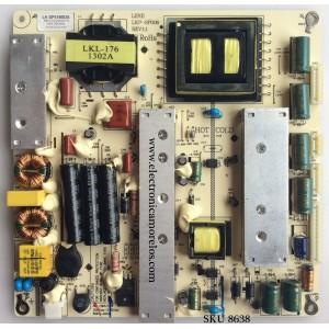 FUENTE DE PODER / SEIKI LK-SP416002A / LKP-SP006 / MODELO SE50FY33