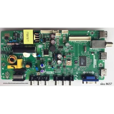 MAIN / FUENTE (COMBO) / TCL L15082342 / V8-MS39PVL-LF1V138 / 02-SHY39V-CHLA06 / T8-32LATL-MA4 / TP.MS3393T.PB710 / MS39PV
