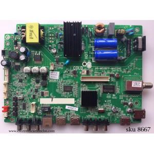 MAIN / FUENTE / (COMBO) / TCL V8-OMS08FP-LF1V023(K1) / V8-0MS08FP-LF1V023 / 40-MS08FP-MAC2HG / GFF119714B