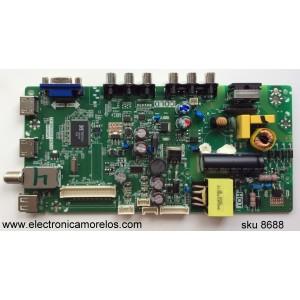 MAIN / FUENTE / (COMBO) SANYO L15061794 / GFF1200500 / T8-32LATL-WA3 / 02-SHY39V-CHLA05 / V8-MS39PVL-LF1V090 /