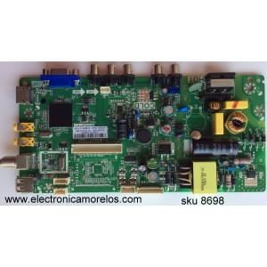 MAIN / FUENTE ( COMBO) TCL L14080105 / GLE951580A / T8-32LATZ-MA1 / V8-MS82PLA-LF1V293 / 02-SHY82V-CHLA03 / TP.MS18VG.PB77