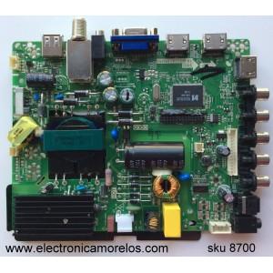 FUENTE / MAIN / (COMBO) / ELEMENT B14041643 / TP.MS3393.PB851 / F50TPMS3393PB851007 / B14041644 / N14040888 / B14041641 / MODELO ELEFW408