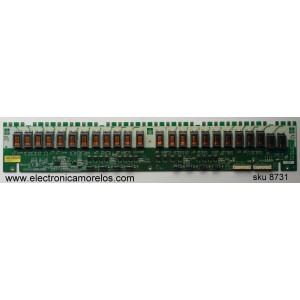 BACKLIGHT INVERSOR / SAMSUNG LJ97-01807B / 1807B / SSI460_24C01 / INV46N24D REV1.0 / MODELO LN46A850S1FXZA