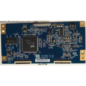 T-CON / SONY 55.31T03.107 / 5531T03107 / T315XW02 VE / T260XW02 VK / 06A90-11 / MODELO KDL-32S3000