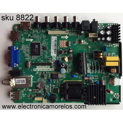 MAIN / FUENTE / (COMBO) SANYO B14031320 / 02-SHY39B-CYS0 / TP.MS3393T.P68 / 3MS3393X-1 / MODELO DP24E14 P24E14-03