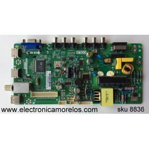 MAIN / FUENTE / (COMBO) / TCL L15009657 / 0EBTL21977 / 02-SHY39V-CHLA02 / V8-WS39PVL-LF1V050 / TP.MS3393T.PB710 / MS39PV