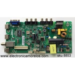 MAIN / FUENTE /(COMBO) / TCL L15020887 / GFE118789A / 02-SHY39V-CHLA02 / V8-WS39PVP-LF1V009 / TP.MS3393T.PB710 / MS39PV