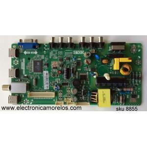 MAIN / FUENTE /(COMBO) / TCL L15010120 / GLE951994J / 02-SHY39V-CHLA03 / V8-WS39PVL-LF1V021 / TP.MS3393T.PB710 / MS39PV
