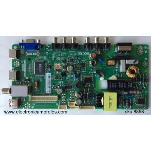 MAIN / FUENTE / (COMBO) / TCL L15004222 / GFF120022A / T8-28LATL-WA1 /  02-SHY39V-CHLA01 / V8-WS39PVL-LF1V026 / TP.MS3393T.PB710 / MS39PV