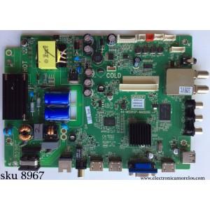 MAIN / FUENTE / (COMBO) / TCL GFE120105B / V8-OMS08GP-LF1V022(M3) / 40-MS08GP-MAB2HG / MS08GP