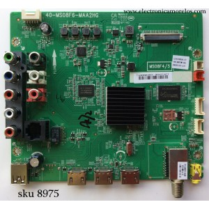 MAIN /  TCL IFF121059D / V8-MS08F4H-LF1V004(H7) / MS08F4/5 / 40-MS08F6-MAA2HG