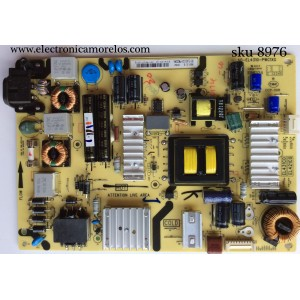 FUENTE DE PODER / TCL 08-EL431C0-PW200AA / 40-EL4310-PWC1XG / EL431C0 / MODELO 48FS4690TAAA