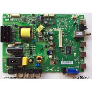 MAIN / FUENTE (COMBO) / SANYO B13105779 / 02-SHY39B-CHS1 / TP.MS3393.P77 / 3MS3393X / PANEL LVW320AUDX E2 V1 / MODELODP32D53 P32D53-01