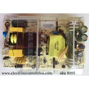 FUENTE DE PODER / RCA LK1060-005C / LK1060-001 / RE46LK0605 / CQC04001011196 / MODELO 22LA45RQD