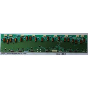 BACKLIGHT INVERSOR / (SCLAVA) SANYO 19.55T05.004 / 1955T05004 / 4H.V2928.131 /B / V292-201 / MODELO DP55441 P55441-03 / PANEL T550HVN02.0