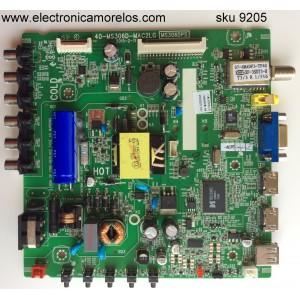 MAIN / FUENTE / (COMBO) / TCL V8-M306GRS-LF1V003(M1) / IFE120259A / 40-MS306D-MAC2LG / MS306DPS