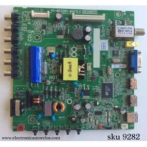 MAIN / FUENTE / (COMBO) / TCL V8-M306GRS-LF1V003(K3) / IFE120259A / 40-MS306D-MAC2LG / MS306DPS