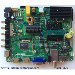 MAIN / FUENTE / (COMBO) / TCL B14041653 / LSC400HN01 / TP.MS3393.PB851 / MODELO ELEFW408 / PANEL LSC400HN01-G01