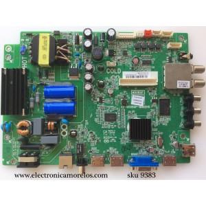 MAIN / FUENTE / (COMBO) / TCL V8-OMS08DT-LF1V017(K1) / IDE1500001 / T8-43D14ZS-MA1 / MS08GP / 40-MS08GP-MAB2HG