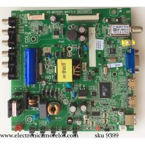 MAIN / FUENTE / (COMBO) / TCL V8-M306GRS-LF1V003(K2) / IFE120259A / 40-MS306D-MAC2LG / MS306DPS