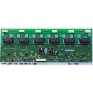 BACKLIGHT INVERSOR / LG 19.26T04.001 / 1926T04001 / VIT71023.43 / VIT71023.59 / VIT71023.56 / MODELO 26LG30-UA / PANEL T260XW03 V.3
