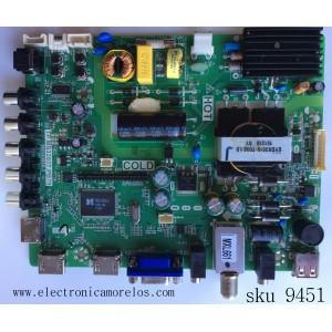 MAIN / FUENTE / (COMBO) / TCL B15031290 / 02-SHG39A-C001000 / TP.MS3393T.PB79 / 3MS3393X-2