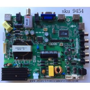 MAIN / FUENTE / (C0MB0) / TCL SANYO B14010097 / 02-SHY39A-CLS001 / TP.MS3393T.PB79 / 3MS3393X-2 / MODELO DP42D24  DP42D24S