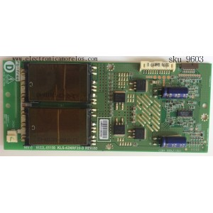BACKLIGHT INVERTER / PANASONIC 6632L-0510B / KLS-42NRF20-D / MODELO TH-42LF20U / PANEL LD420WUB(SB)(A1)