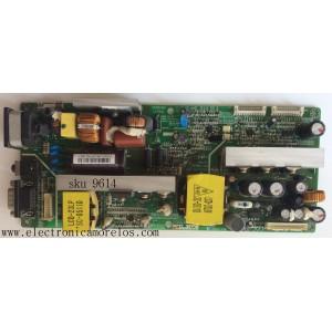 FUENTE DE PODER / ZENITH 6871TPT287A / LCD23L / SUSTITUTA 6871TPT287E / MODELO RM-23LZ50.ALUSZF / PANEL LC230W01(B2)(K1)