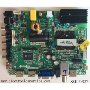 MAIN / FUENTE / (COMBO) HISENSE 173395 / TP.MS3393.PB851 / LTDN40D37US(1) / MODELO 40D37 / PANEL JHD400GF