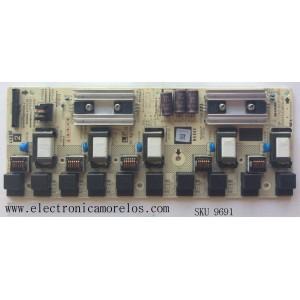 BACKLIGHT INVERTER / SHARP RUNTKA380WJN1 / QKITS0218S2P2(85) / MODELO LC-46SE94U