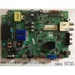 MAIN /FUENTE / COMBO /TCL IFE121760A / V8-0MS08GP-LF1V032(M1) / MS08GP / 40-MS08GP-MABHG / V8-OMS08GP-LF1V032(M1)/