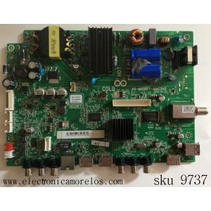 MAIN / FUENTE (COMBO) / TCL GFF119197D / V8-OMS08FP-LF1V021(L) / MS08FP / 40-MS08FP-MAC2HG / V8-0MS08FP-LF1V021(L) / PANEL INXV400HJ6-PE1 / MODELO PLE-40S05FHD