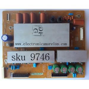 X-SUS / SAMSUNG BN96-16523A / LJ92-01763A / 763A / MODELO PN51D550C1FXZA / PANEL S50FH-YD07