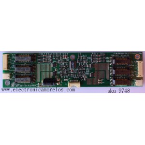 BACKLIGHT INVERSOR / POLAROID 3BD0017510 / PCB1203/ INV20-606A/ FS4A3577 / MODELO LCD-2000 / PANEL LC201V02