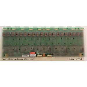 BACKLIGHT INVERSOR / OCM 27.14C00.006 / VIT70004.50 / MODELO LT-3780D / PANEL V370H1-L02 REV A1