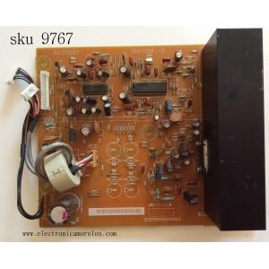 TARJETA DE AUDIO AMP / PIONEER AWZ6687 / ANP2001-D / MODELO PDP-433PE/WYV16